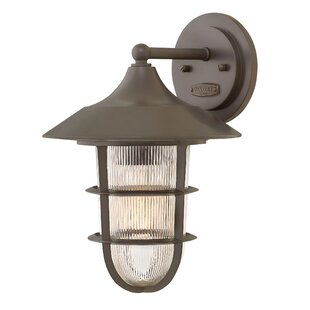 Best Reviews Washer Outdoor Wall Lantern By Breakwater Bay