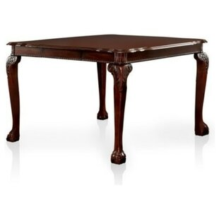 Barryknoll Traditional Counter Height Solid Wood Dining Table by Astoria Grand