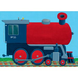 Train Engine Canvas Art