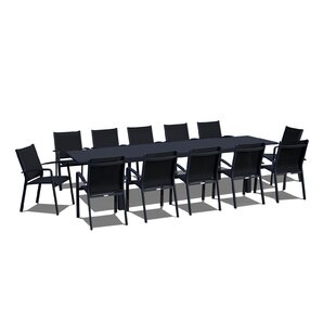 Urban Furnishings Extendable 13 Piece Dining Set
