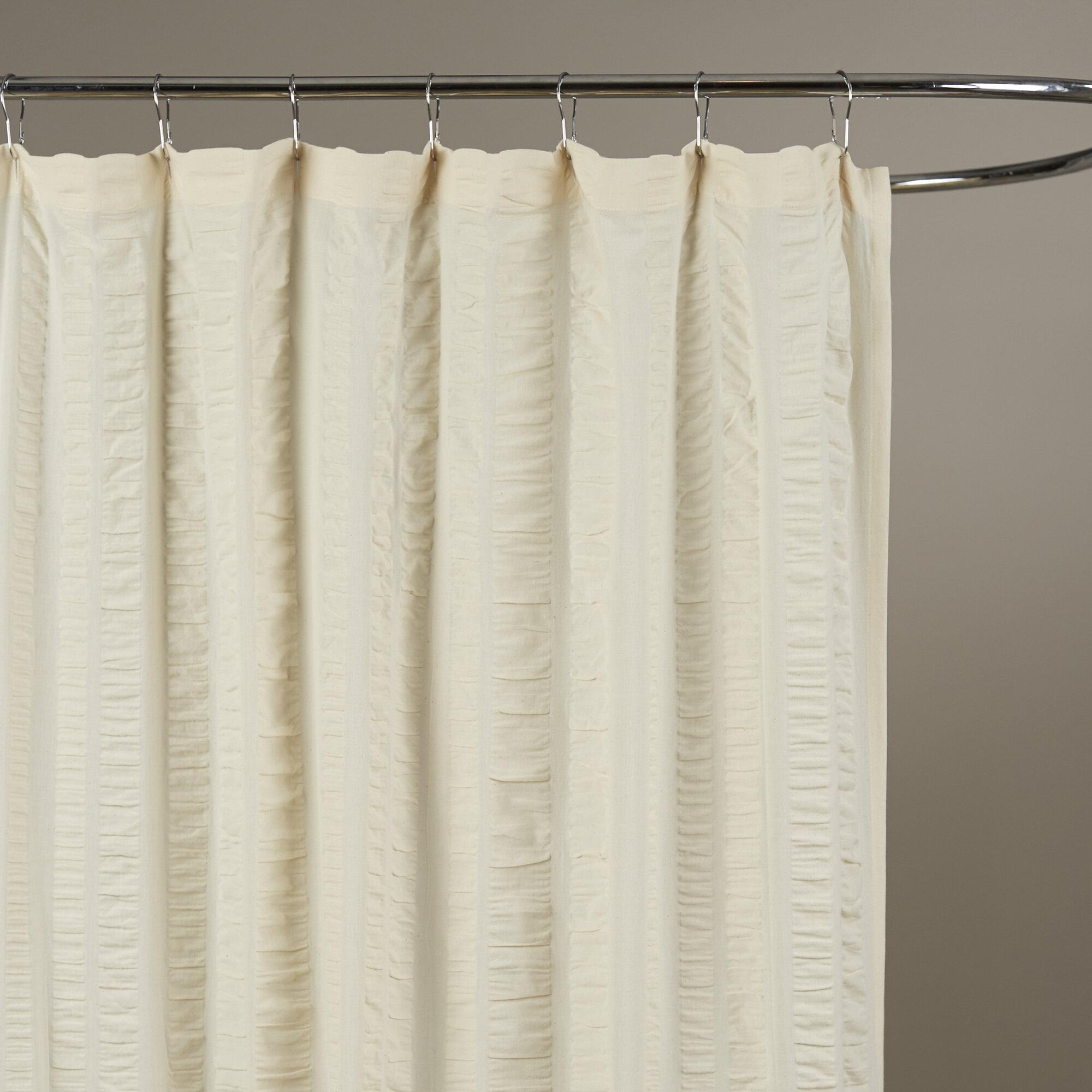 Birch LaneTM Heritage Ewen 100 Cotton Shower Curtain Reviews