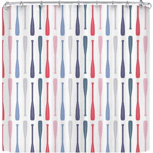Afe Images Canoe Paddles Single Shower Curtain