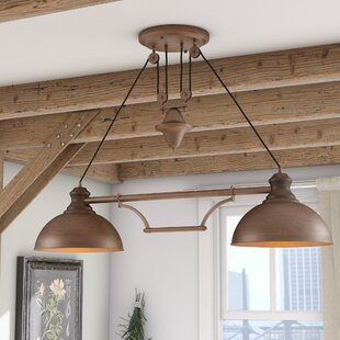 Rodriques Pulldown 2-Light Pool Table Light by Laurel Foundry Modern Farmhouse