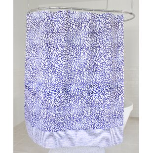 Offutt Fabric Single Shower Curtain