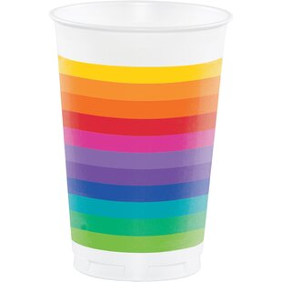 Plastic Disposable Cup (Set of 24)