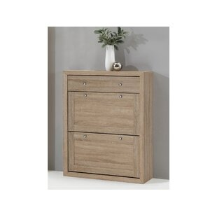 16 Pair Shoe Storage Cabinet By August Grove