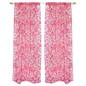 Delaney Curtain Panel (Set Of 2)
