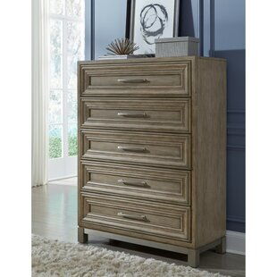 Gracie Oaks Gwyneth 5 Drawer Chest