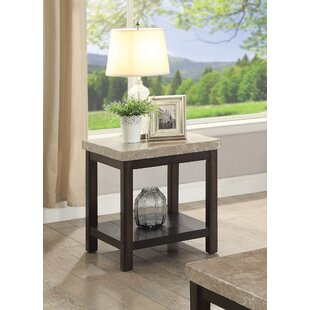Mystras End Table by Winston Porter