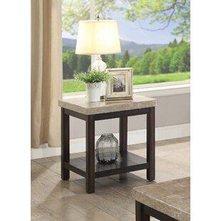 Affordable Mystras End Table ByWinston Porter