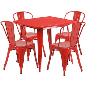 Red Kitchen & Dining Room Sets You\'ll Love | Wayfair