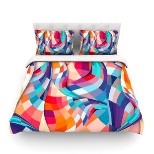 Versicolor by Danny Ivan Featherweight Duvet Cover