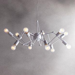 Brayden Studio Christofferso 12-Light Sputnik Chandelier