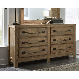 Chaffin 6 Drawer Double Dresser