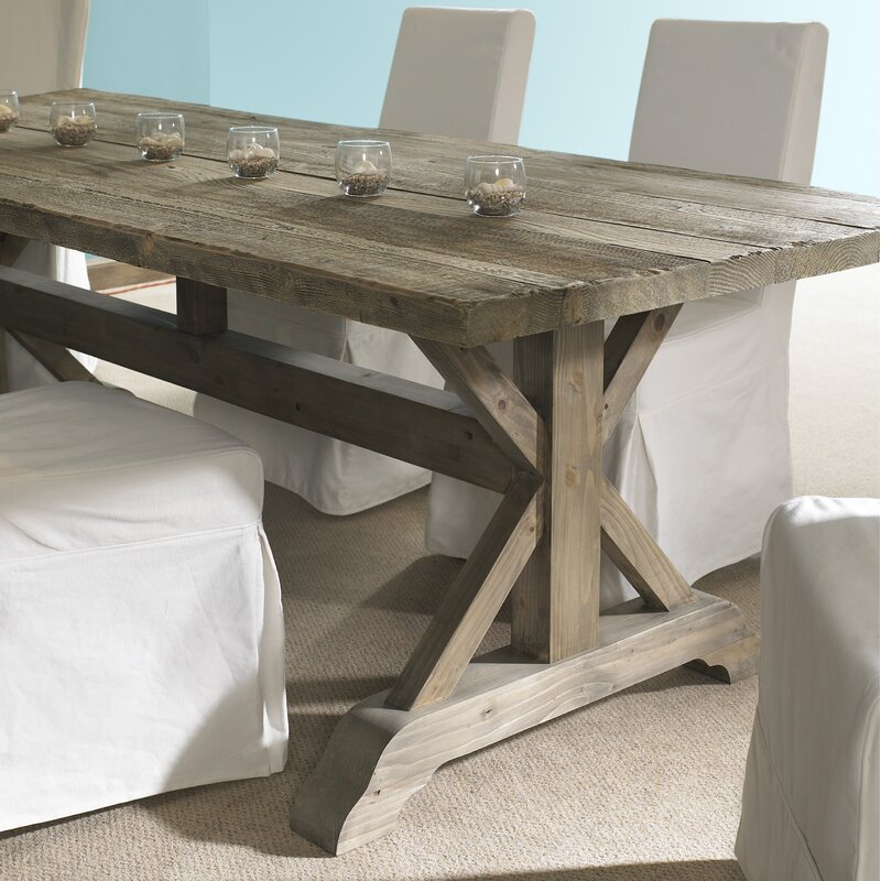 Salvaged Wood Solid Dining Table