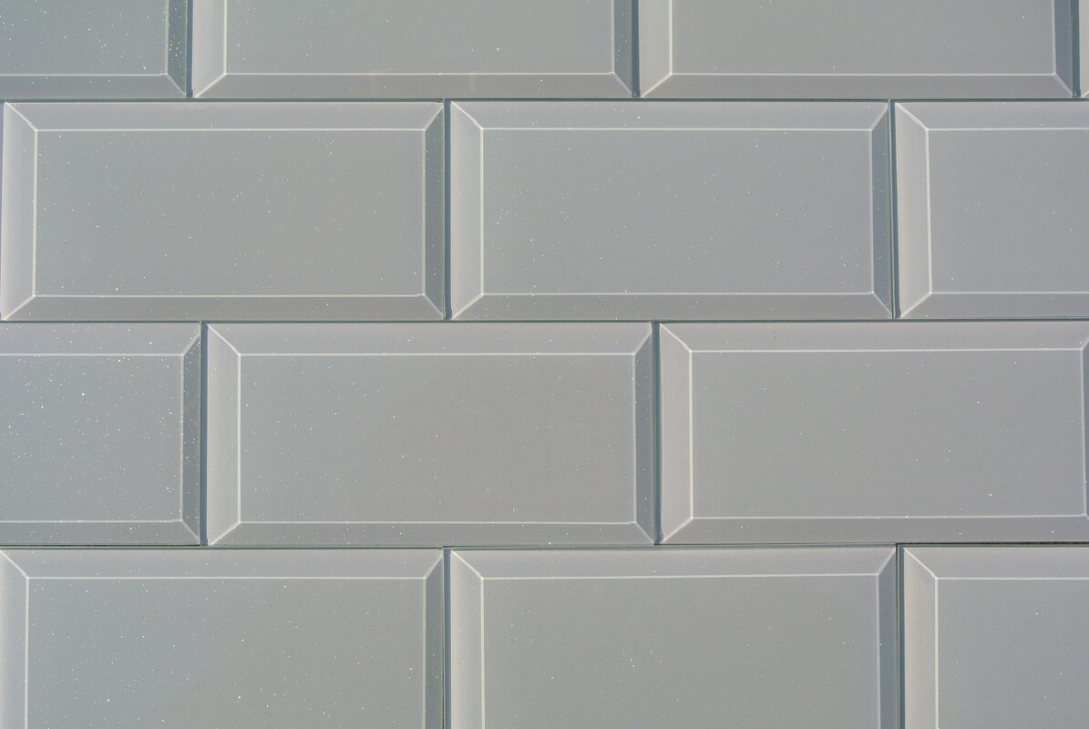 Abolos frosted elegance joey 3 x 6 glass subway tile in glossy frosted elegance joey 3 x 6 glass subway tile in glossy gray dailygadgetfo Images