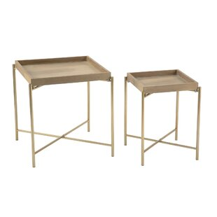 Affordable Alyce 2 Piece End Table Set by Brayden Studio