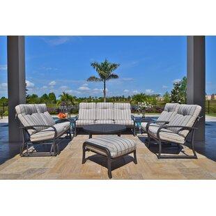 Terrabay 8 Piece Sunbrella Sofa Set with Cushions