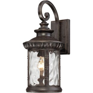 Price Check Mumford 1-Light Outdoor Wall Lantern By Astoria Grand