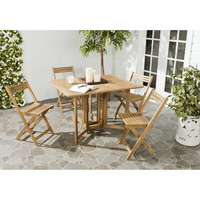 Laoise Gardens 5 Piece Dining Set by Highland Dunes 2020 Sale