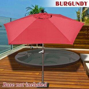 Eldora 8' Lighted Umbrella by Longshore Tides