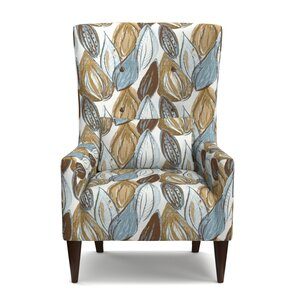 Lesley Wingback Chair by Latitude Run