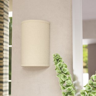 Read Reviews Greenwell 1-Light Wall Sconce By Three Posts