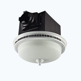 Read Reviews 110 CFM Bathroom Fan with Light By Lift Bridge Kitchen & Bath