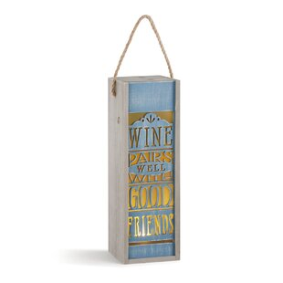 Wine Pairs Well Lantern Carrier
