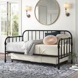 Charlotte Twin Metal Daybed with Trundle by Kelly Clarkson Home