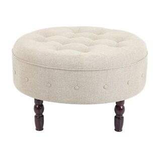 Michaelis Fabric Tufted Cocktail Ottoman