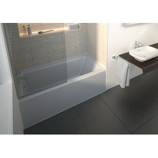 Best Architec 60 x 30 Alcove Soaking Bathtub with 19.25'' Panel By Duravit