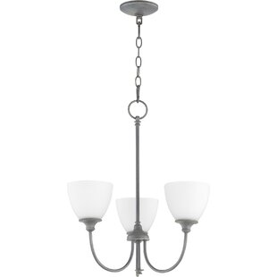 Willa Arlo Interiors Dian 3-Light Shaded Chandelier
