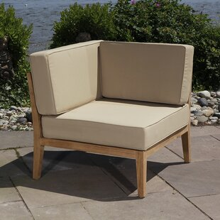 Madbury Road Bali Teak Patio chair with Cushions