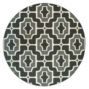 Crewkerne Casual Black Indoor/Outdoor Area Rug