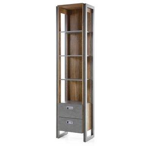 202 cm Bücherregal Detroit von Hokku Designs