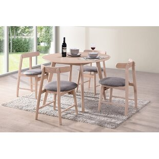 Isla Dining Set With 4 Chairs By Hazelwood Home