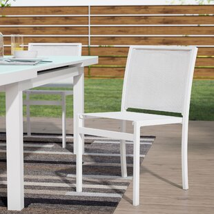 Drumankelly Stacking Patio Dining Chair (Set of 2)