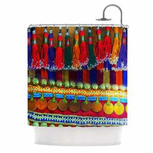 Boho Mania by S Seema Z Ethnic Single Shower Curtain