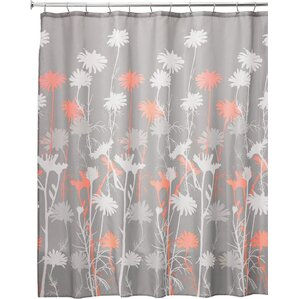 grey and orange shower curtain. Daizy Shower Curtain Orange Curtains You ll Love  Wayfair