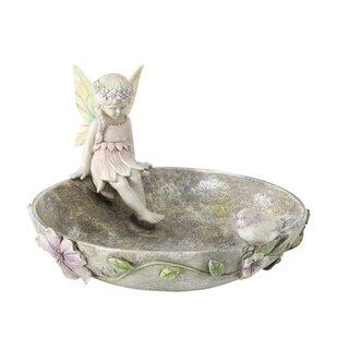 Frisbie Bird Bath By Lily Manor