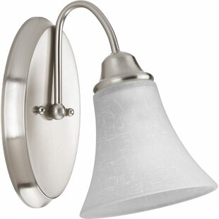 Adama 1-Light Bath Sconce by Latitude Run