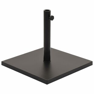 Steel And Concrete Free Standing Umbrella Base By Freeport Park