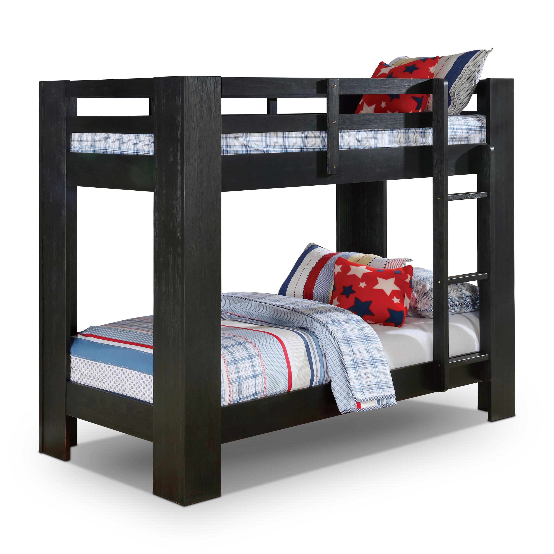 Harriet Bee Chiesa Twin Over Twin Bunk Bed Wayfair
