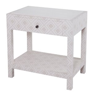 Lisa Fabric Wrapped Nightstand