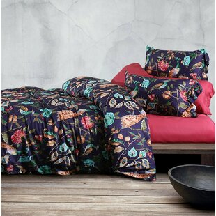 Rue 100% Cotton 3 Piece Duvet Cover Set