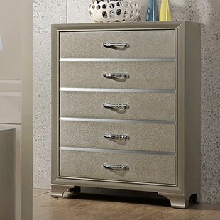 Plumlee Wooden 5 Drawer Chest