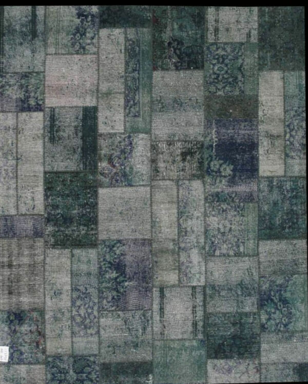 Pasargad Patchwork Hand Knotted Wool