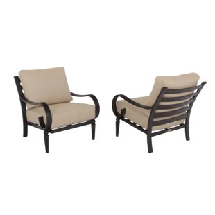 Columbia Patio Chair with Cushions (Set of 4)