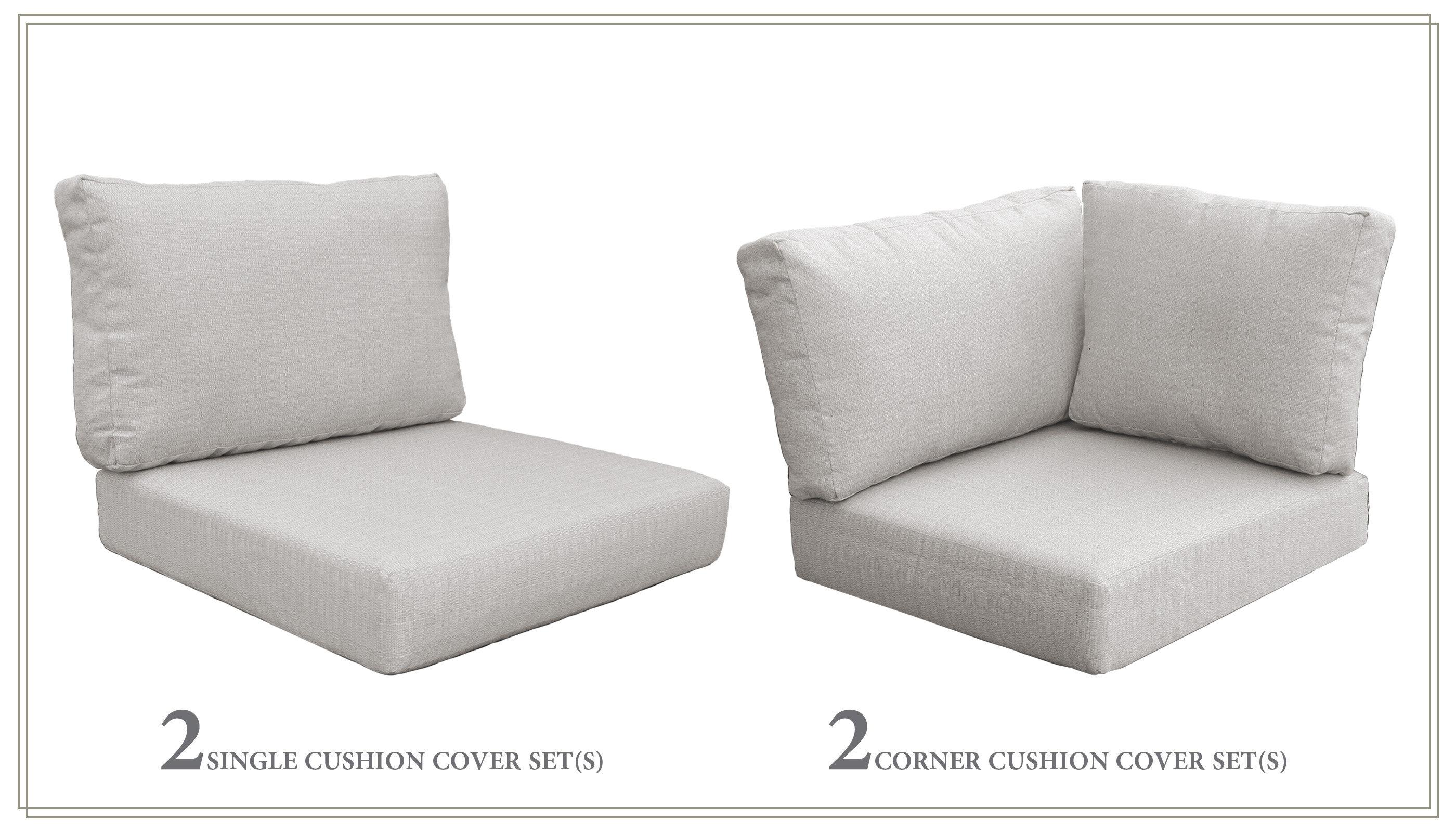 Red Barrel Studio High Back Indoor Outdoor Replacement Cushion Set Wayfair